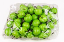 Decorative Green Artificial Apples 4.5cm x 50pcs