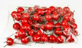 Decorative Red Artificial Apples 3.5cm x 50pcs