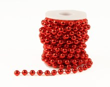Red Pearl Garland 8mm x5m