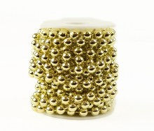 Gold Peral Garland 8mm x 5m