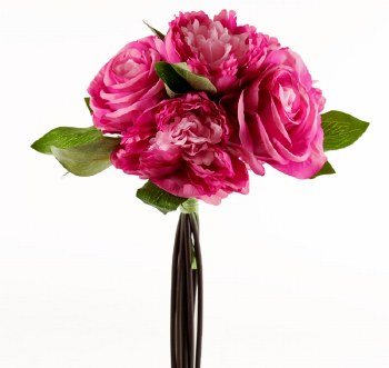 Artificial Peony Rose Bundle