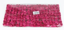 Fuchsia Paper Tea Roses x 144 2cm