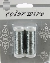 Silver Florist Wire x 2 15M