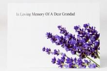 Florist CardsLarge In Loving Memory Of A Dear Grandad x 9pcs