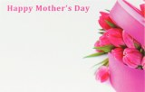 Florist Gift Cards Happy Mother's Day Small x 50pcs
