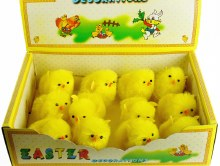 Easter Decorations Chicks x 12 pcs