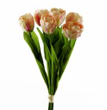 Artificial Tulip Bundle Light Pink x 6