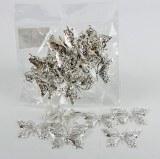 Silver Butterfly x 23
