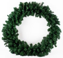Christmas Artificial Spruce Wreath 60cm
