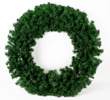 Christmas Artificial Spruce Wreath Large 80cm
