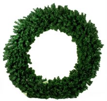 Christmas Artificial Spruce Wreath Extra Large 100cm