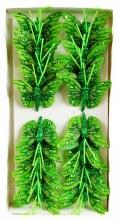 Decorative Butterflies On Wire Stem x 24 Green