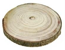 Wood Slice 24cm approx
