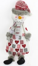 Snowman Advent Calendar 93cm