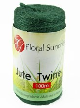 Heavy Duty Florist Mossing Twine Green 100m