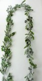 Christmas Garland Spruce Snow 180cm