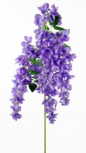 Artificial Hanging Wisteria/ Orchid Laevnder 110cm