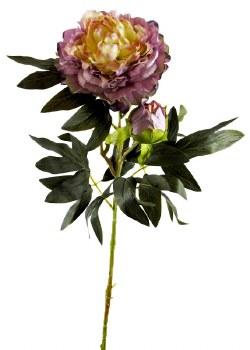 Artificial Peony Rose Flower 90cm Lilac