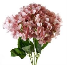 Artificial Hydrangea Bunch 50cm Lilac