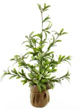 Artificial Mistletoe Christmas Tree 24""