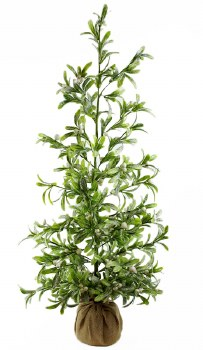 Artificial Mistletoe Christmas Tree 36""