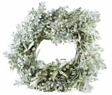 Christmas Frosted Pearl Berry Wreath 20""