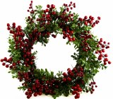 Red Berry Christmas Wreath 18-20""