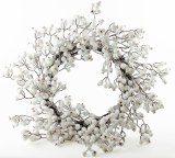White Berry Christmas Wreath 18-20""
