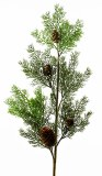 Christmas Spruce Stem Green 34""