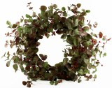 Christmas Door Wreath Rustic 26""