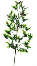 Artificial Christmas Branch With Berries 30""