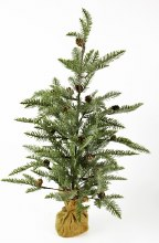Artificial Frosted Nordic Christmas Tree 80cm