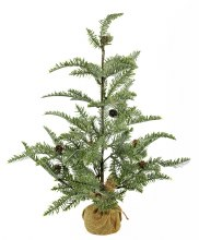 Artificial Frosted Nordic Christmas Tree 60cm