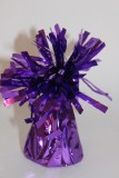 Purple foil balloon weight,height-14cm