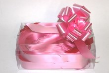 Box of 30 31mm Baby pink pullbows