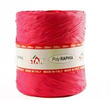Poly raphia ribbon fuchsia x 200m