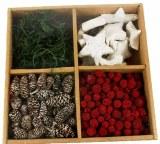 Natural Christmas Selection Box Red Mix