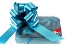 Pull Bows Ribbon 50mm x 20pcs Turquoise Blue