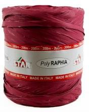 Poly Raphia Ribbon 200m Magenta
