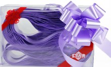 Pull Bows 31mm x 30 Light Lilac