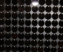 Sequin Wall Panel Black 30cm