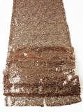 Sequin Table Runner Rose Gold 30cm x 275cm