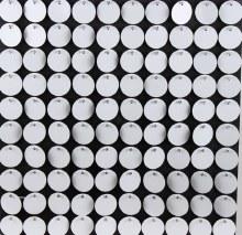 Sequin Wall Panel White 30cm x 30cm