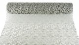 Decor Mesh Silver Glitter 50cm x 5Yards
