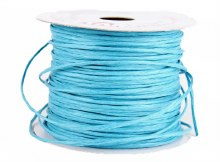 Paper Covered Wire Tourbillion Turquoise 50m