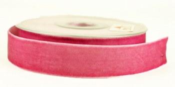 Velvet Ribbon Pink 25mm x 9m