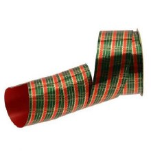 Tartan ribbon 50mm x 50yards