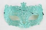 Masquerade Ball Mask Aqua