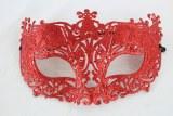 Masquerade Ball Mask Red