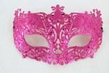 Masquerade Ball Mask Fuschia